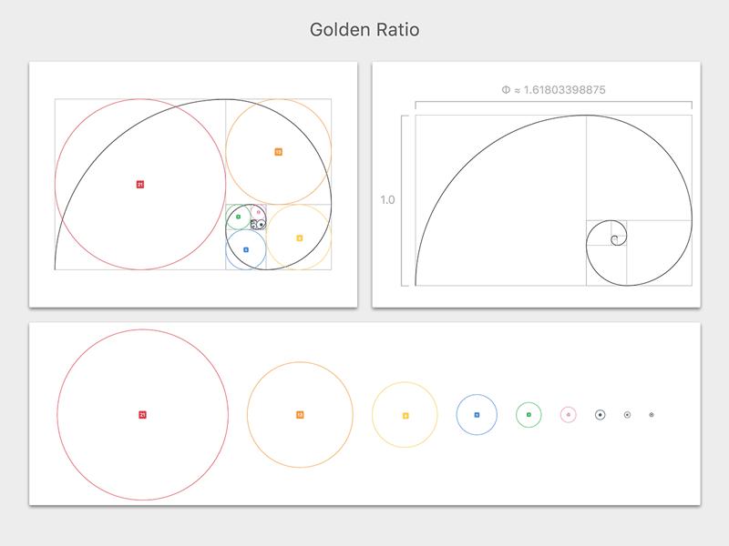 golden ratio template for sketch 3 freebie download sketch
