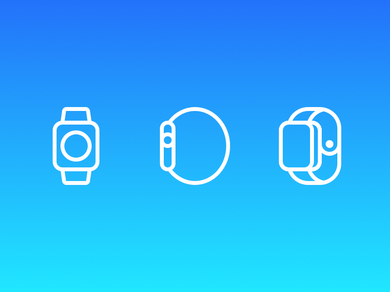 Sketch apple watch icon