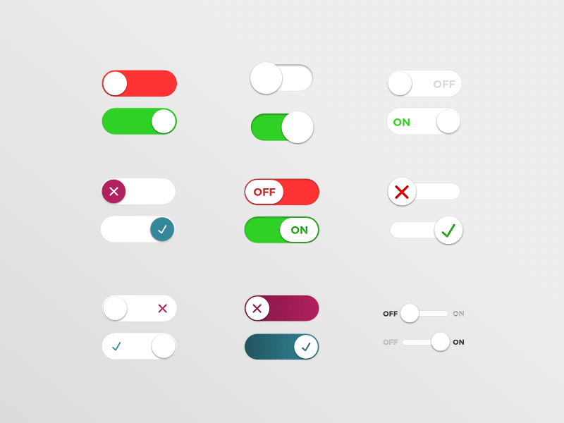 Onoff Switches Freebie Download Sketch Resource Sketch Repo