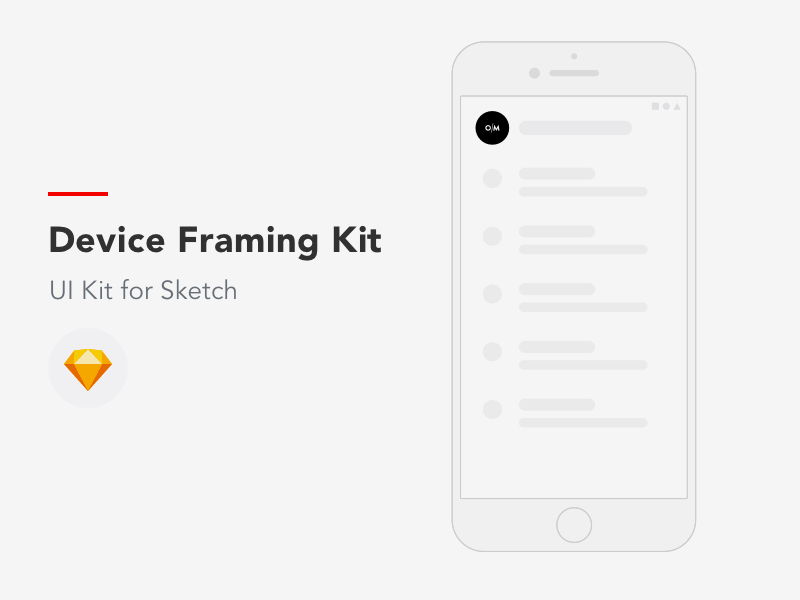 device framing mockup kit freebie download sketch resource