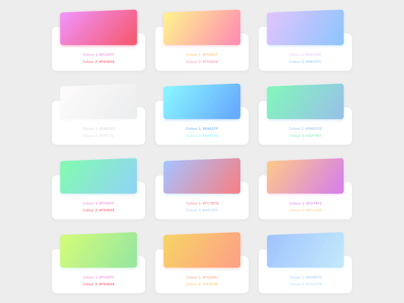 gradients pack freebie - download sketch resource