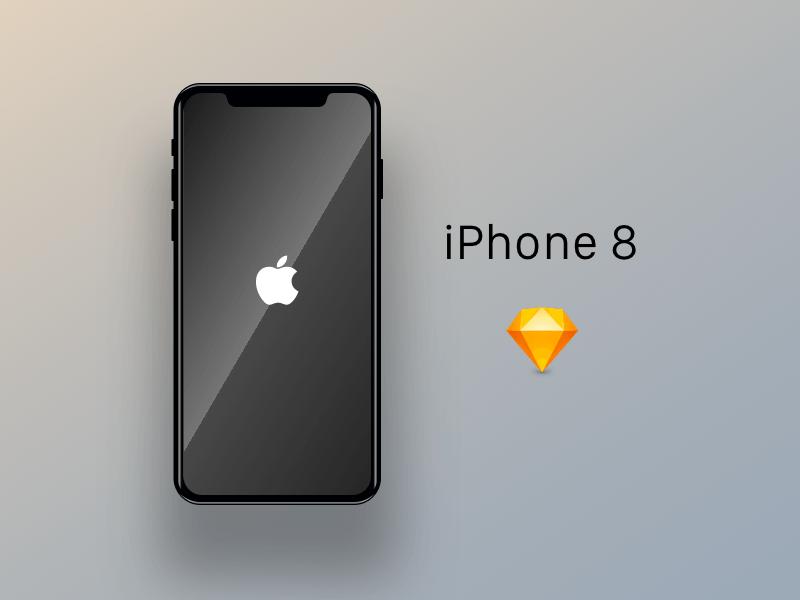 IPhone 8 Concept Mockup