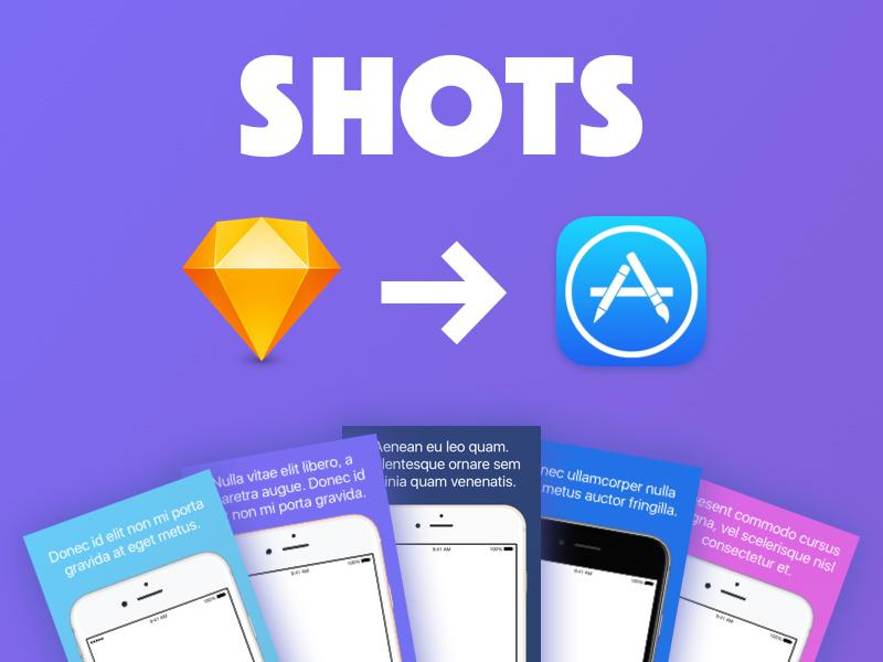 Iphone App Store Screenshots Template For Sketch Freebie Download