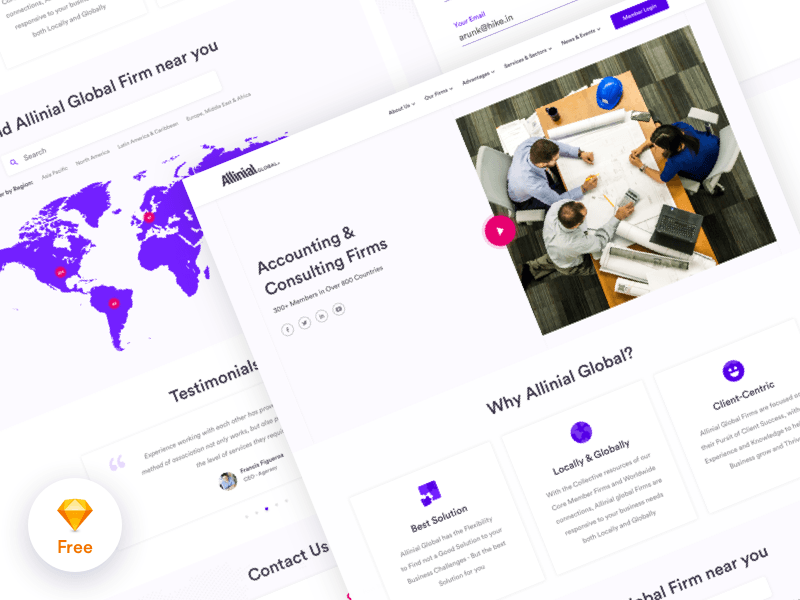 Accounting consulting firm website template freebie download accounting consulting firm website template maxwellsz