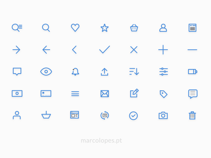 UI Line Icons Pack