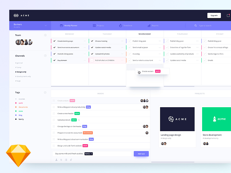 Weekly planner dashboard freebie download sketch for What is a planner dashboard