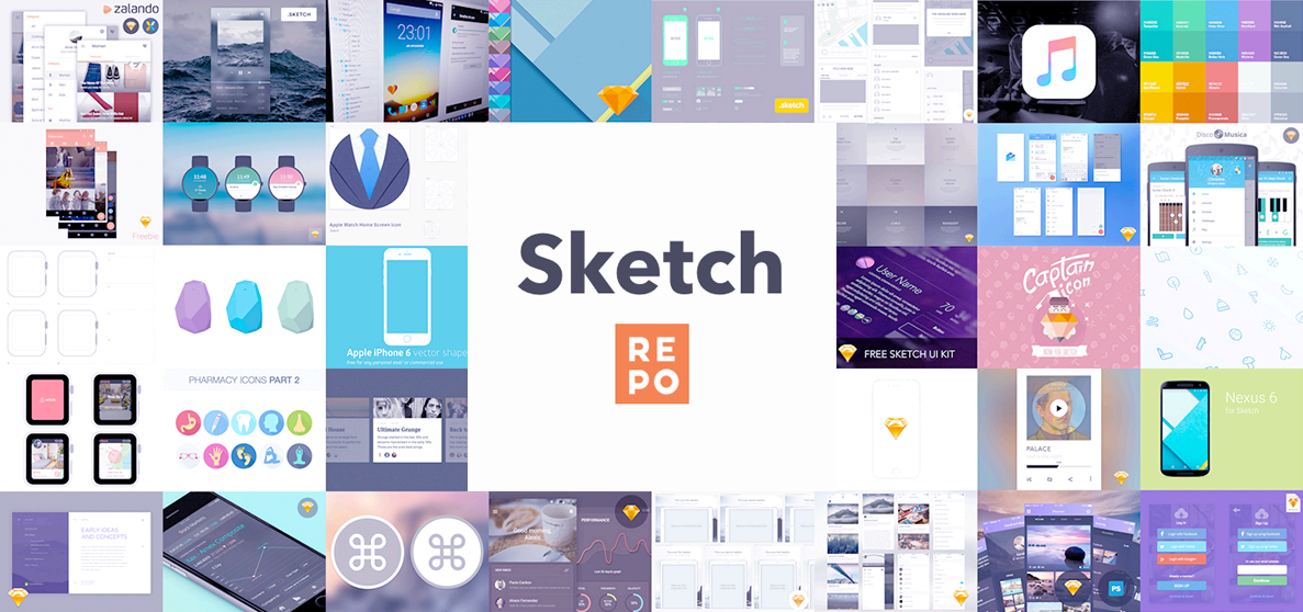 Sketch Repo - 💎 Free Sketch App Resources